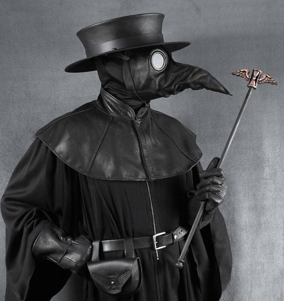 Plague Doctor Mask Halloween