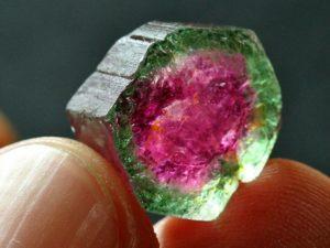 watermelon tourmaline gemstones